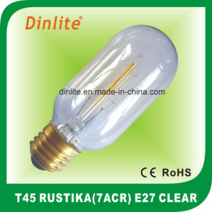 T45-7(ACR) 40W 60W Clear Rustika bulb pictures & photos