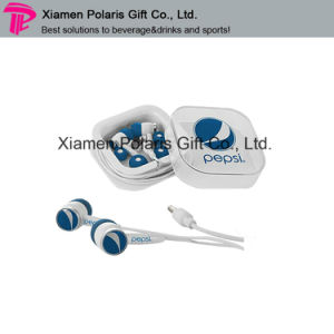 Brand OEM Logo Design Multi Colors MP3 Microphone Stereo Earphone pictures & photos