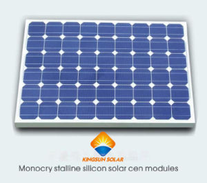 125W-150W Mono-Crystalline Silicon Solar Panel Mono Solar Power Panel pictures & photos