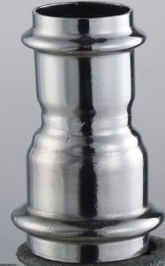 Dn100* (15-50) /Od101.6* (15.88-48.6) mm SUS304 GB Reducing Coupling (Reducer)
