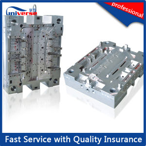 Injection Mould for Cosmetic Container / Molded Powder Case pictures & photos