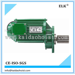 High Quality Elk 1.1kw Crane Motor with Buffer pictures & photos