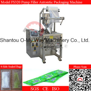PLC Control Automatic Liquid Linear Cut Packaging Machine pictures & photos