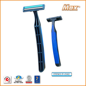 Hot Twin Stainless Steel Blade Disposable Shaving Razor (LY-2162) pictures & photos