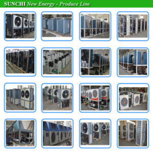 Germany Model -25c Winter Floor / Radiator Heating Room 220V/10kw/15kw R407c Ground Source Heat Pump DC Inverter Geothermal pictures & photos