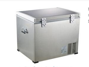 DC Compressor Refrigerator 45liter DC12/24V with AC Adaptor (100-240V) for Outdoor Activity Application pictures & photos
