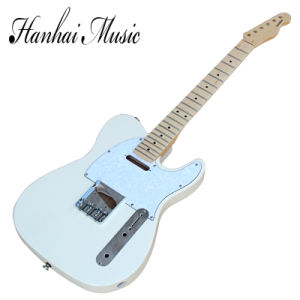 Hanhai Music / DIY Tele Style Electric Guitar Kit with Milk White Body pictures & photos