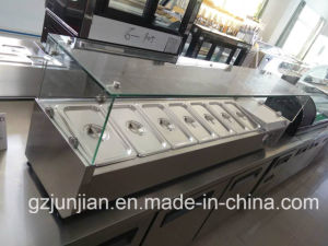 Cheering New Style Stainless Steel Counter Top Freezer pictures & photos