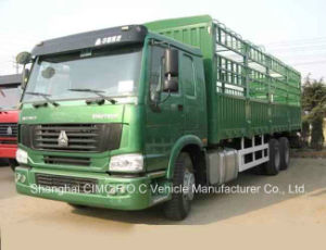 Sinotruck HOWO 6*4 Heavy Duty Stake Cargo/Lorry Truck pictures & photos