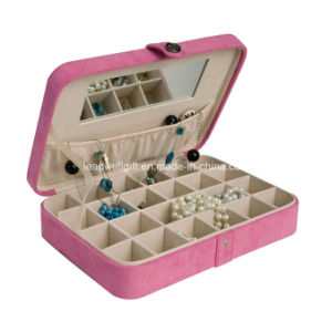 Plush Fabric Fashion Jewelry Box and Ring Case pictures & photos