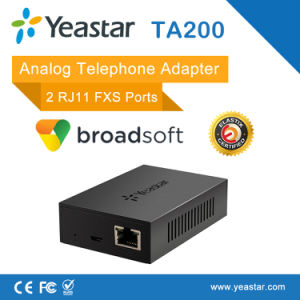 2 FXS SIP Analog Telephone Adapter (ATA) pictures & photos