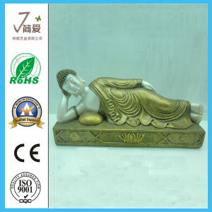 Polyresin Indian Lying Reclined Buddha pictures & photos