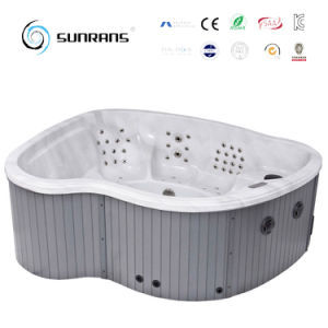 New Design Massage Outdoor Whirlpool Bathtub for 7 Persons Whirlpool Bathtub pictures & photos