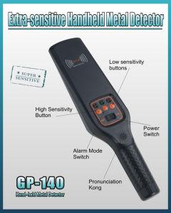 Hand Held Metal Detector Gp-140 pictures & photos