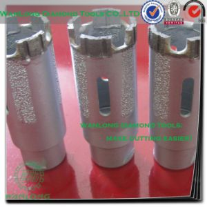 1/4 Diamond Drill Bit for Granite-Carbide Drill Bits for Natural Granite pictures & photos