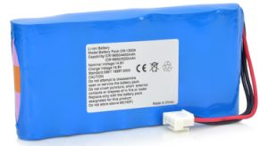 Replacement Vital Signs Monitor / ECG Battery for Comen Cm-1200A pictures & photos