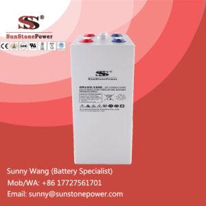 2V Voltage 1200ah Free Maintenance Solar Battery Opzv Tubular Gel Batteries pictures & photos
