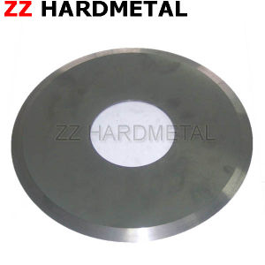 Zhuzhou Hard Alloy Od 305mm Thickness 0.3mm Circular Slitting Blade pictures & photos