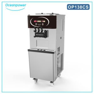 Soft Ice Cream Machine (Oceanpower OP138CS) pictures & photos