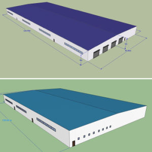 Steel Structure Warehouse/Workshop with Sandwich Panel pictures & photos