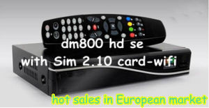 Vision Satellite Programs with New 800HD Se Satellite Receiver pictures & photos