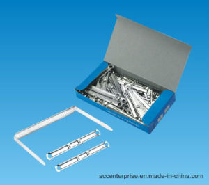 Metal File Fastener, Metal Paper Fastener, Metal Clip pictures & photos
