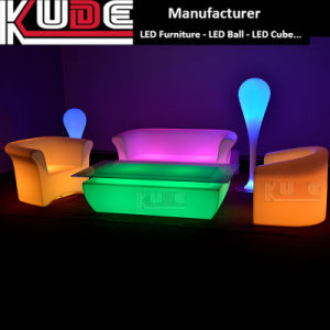 Plastic Bar Furniture Light up LED Bar Table pictures & photos