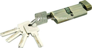 Good Quality Brass/Zinc Computer Key Cylinder (C3370-121 AB -291 AB) pictures & photos
