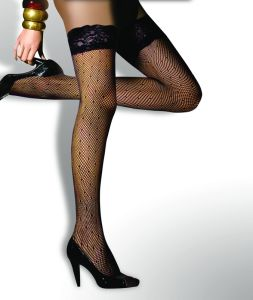 DOT Pattern Sexy Long Stocking 8409-G pictures & photos