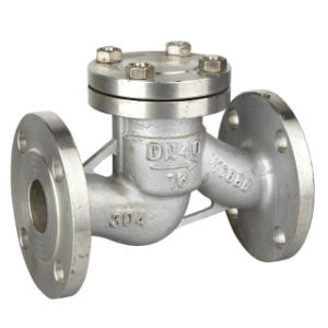 Stainless Steel 304/316 Flanged API Swing Check Valve pictures & photos