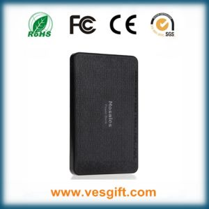 Mobile Ultra Slim Super Capacity 4000mAh Mosaics Power Bank pictures & photos