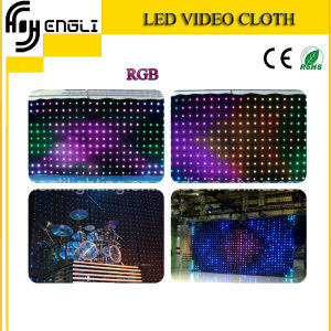 LED Stage Video Clioth with CE & RoHS (HL-052) pictures & photos
