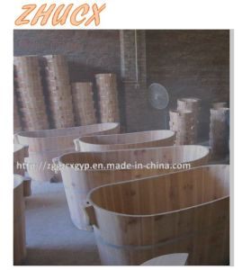 Common Wooden Bathtub Bath Appliances Bathroom Furniture pictures & photos