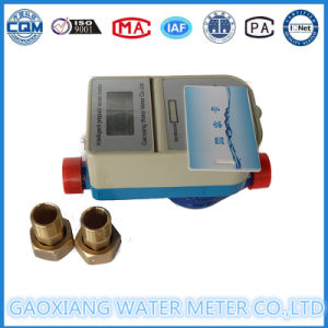 Prepaid Pulse Water Meter with Motor Valve 1/2′′--1′′ pictures & photos