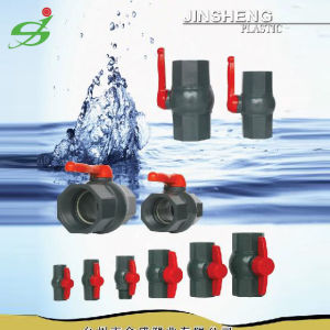 High Quality UPVC / CPVC Ball Valve pictures & photos