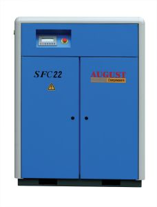 22kw/30HP August Stationary Air Cooled Screw Compressor pictures & photos