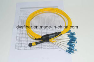 3D Tested 24cores Singlemode MPO-LC Fiber Cable pictures & photos