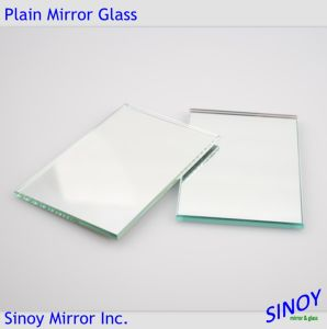 China Origin Waterproof 4mm Silver Mirror Glass, Double Coated with Fenzi Paints for Interior Applications pictures & photos