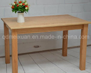 Solid Wooden Dining Table Living Room Furniture (M-X2920) pictures & photos