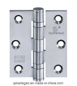 """SUS304 Butt Hinge for Fire Door and Metal Door (3""""X2""""X2.0mm-2BB) pictures & photos"""