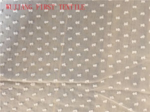Silk Cotton Clip Fabric pictures & photos