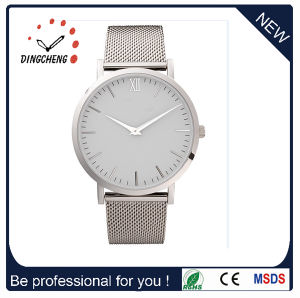 Brand Automatic Swiss Stainless Steel Leather Men′s Wrist Quartz Watch pictures & photos