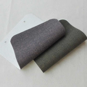 Grey Color PVC Artificial Leather for Sofa pictures & photos