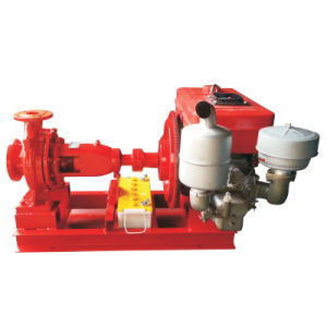 Single Cylinder Fire Fighting Water Fire Pump pictures & photos