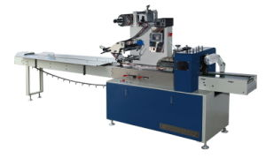 Flow Wrapping Machine for Paper Plate, Automatic Flow Packaging Machine pictures & photos