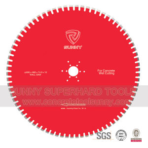 Diamond Wall Saw Blade for Concrete Cutting pictures & photos