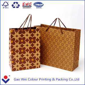 New Style Customized Kraft Paper Bag with Your Own Logo Printing pictures & photos
