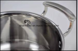 Tri Ply Copper Clad 12PCS Cookware Set Kitchenware pictures & photos