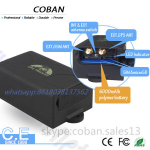 Waterproof Container GPS Tracker Tk104 Long Battery Life GPS Tracker for Vehicle Car pictures & photos
