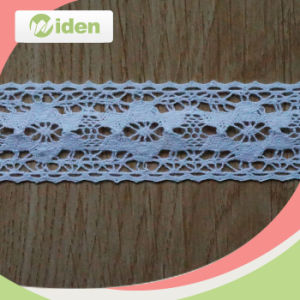 African Top Cheap White Cotton Crochet Lace pictures & photos